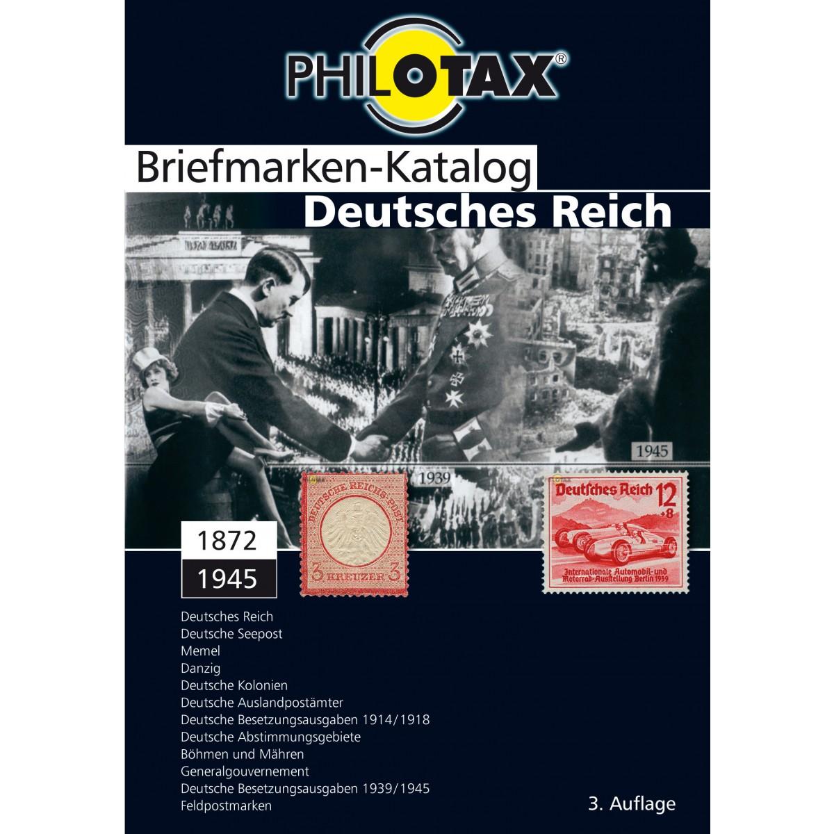 Philotax Dvd Briefmarken Katalog Deutsches Reich