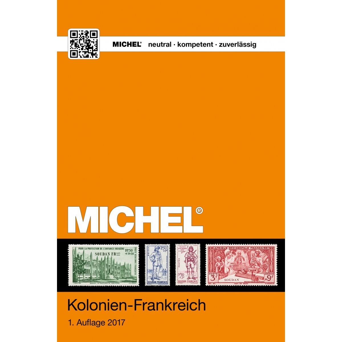 Michel kolonien frankreich 2017 for Frank flechtwaren katalog 2017