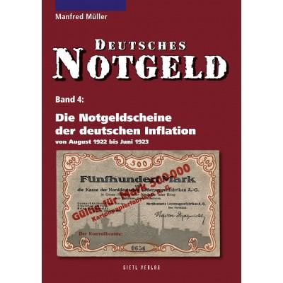 Deutsches Notgeld Band 4: Die Notgeldscheine der deutschen Inflation 1922, 3. Auflage 2010