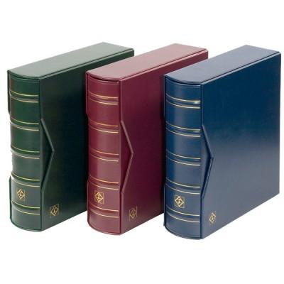 Leuchtturm Album für 200 FDCs oder Briefe in C6 inkl. Schutzkassette, Rot
