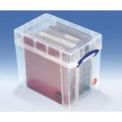 Aufbewahrungsbox aus Kunststoff für Briefmarken- und Münzenalben (Really Useful Box 19 XL Box)