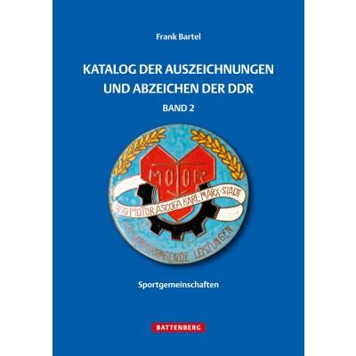 Katalog der Auszeichnungen und Abzeichen der DDR, Band 2 - Sportgemeinschaften