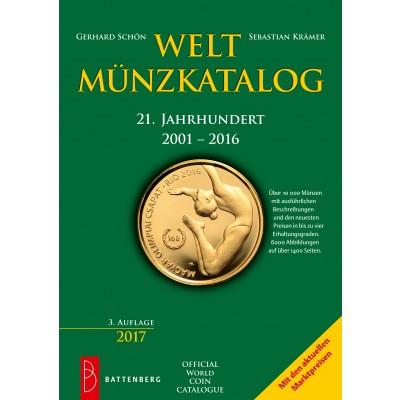 Weltmünzkatalog 21. Jahrhundert, 2001 - 2016