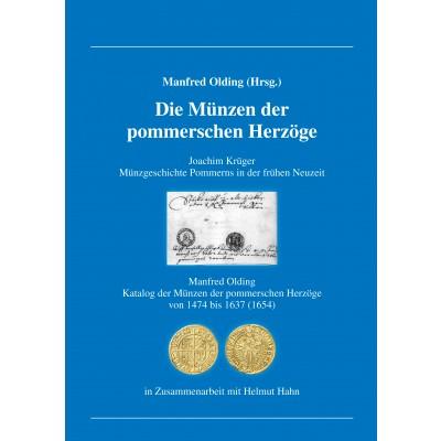 Manfred Olding: Die Münzen der pommerschen Herzöge