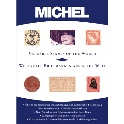 MICHEL Wertvolle Briefmarken aus aller Welt / Valuable Stamps Catalogue 2012/2013