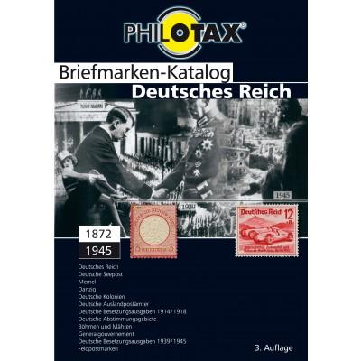 PHILOTAX DVD-Briefmarken-Katalog Deutsches Reich mit Kolonien und Gebieten