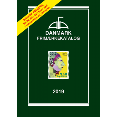AFA Denmark stamp catalogue 2019