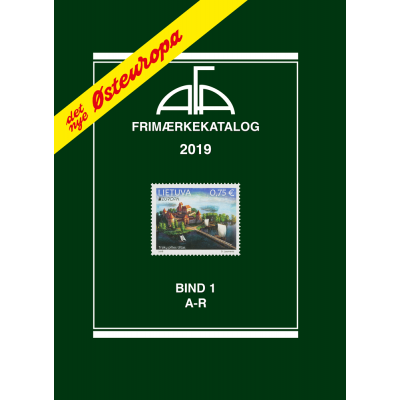 AFA Eastern Europe stamp catalogue volume I, 2019 (A-R)