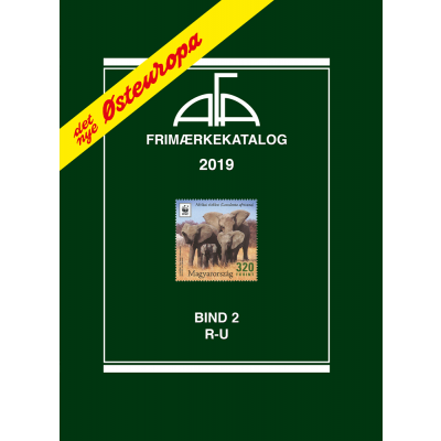 AFA Eastern Europe stamp cataloque volume II, 2019 (R-U)