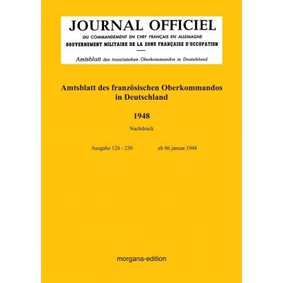 Peter N. Morgen: Amtsblatt des französischen Oberkommados in Deutschland 1948