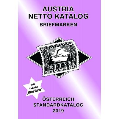 ANK Austria Netto Katalog Briefmarken Österreich Standardkatalog 2019