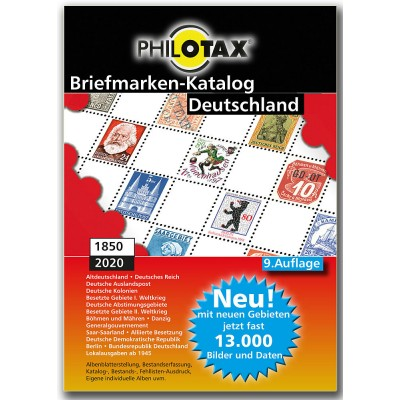 PHILOTAX DVD Briefmarken-Katalog Deutschland 9. Auflage