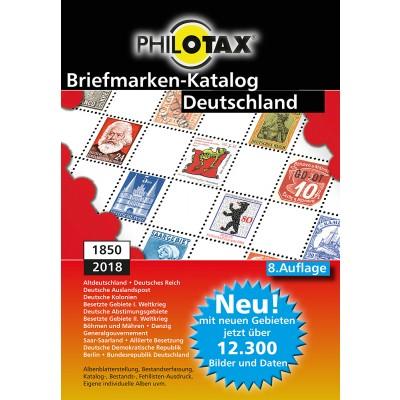 PHILOTAX DVD Briefmarken-Katalog Deutschland 8. Auflage