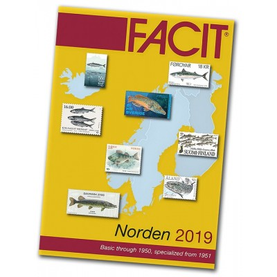 Facit Norden 2019 (ab 1951) / Facit Nordic Region 2019 from 1951