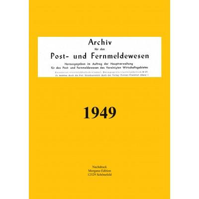 Peter N. Morgen: Archiv für das Post- und Fernmeldewesen 1949