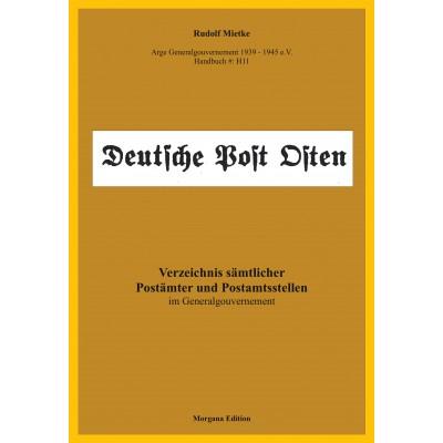 Rudolf Mietke: Verzeichnis sämtlicher Postämter und Postamtsstellen im Generalgouvernement