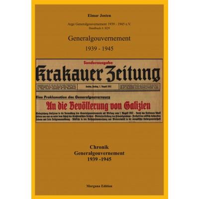 Elmar Josten: Chronik Generalgouvernement 1939 - 1945