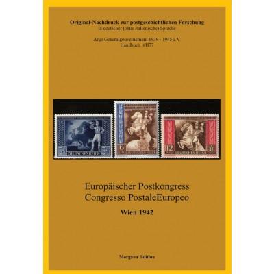 Reichsdruckerei Berlin: Europäischer Postkongress / Congresso Postale Europeo Wien 1942