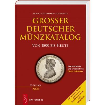 Großer deutscher Münzkatalog (AKS) von 1800 bis heute