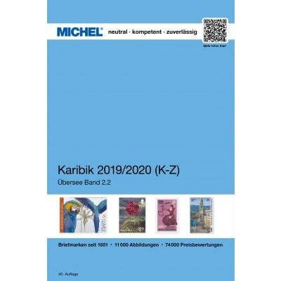 MICHEL Karibische Inseln 2019/2020 (ÜK 2.2) - Band 2 (K-Z)