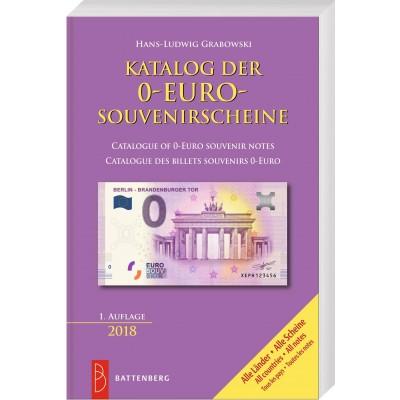 Katalog der 0-Euro-Souvenirscheine (deutsch, englisch, französisch) (Kataloge)