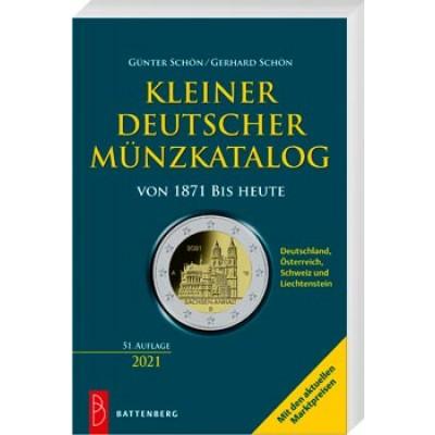 Kleiner deutscher Münzkatalog - von 1871 bis heute