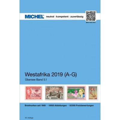 MICHEL Westafrika 2019 (ÜK 5.1) – Band 1 A-G