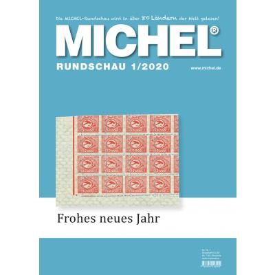 MICHEL-Rundschau-Jahresabonnement 2020