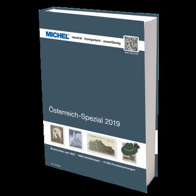 MICHEL Österreich-Spezial 2019 – inkl. Ganzsachen
