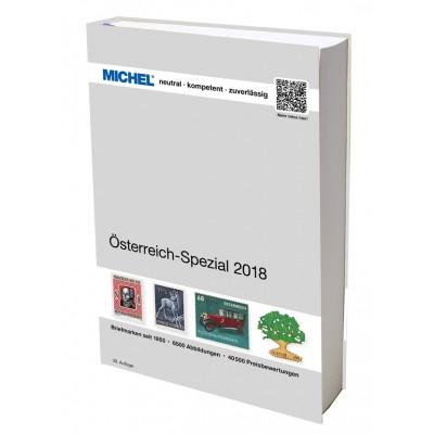 MICHEL Österreich-Spezial 2018 – inkl. Ganzsachen