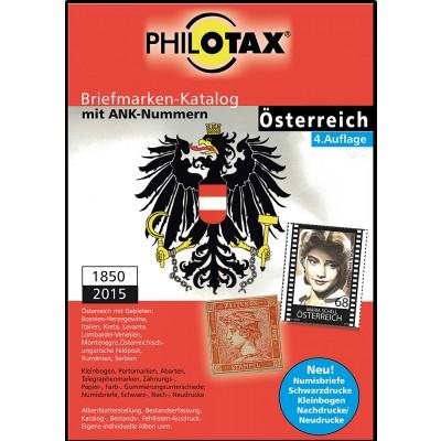 PHILOTAX DVD-Katalog Österreich Spezial Katalog 1850 - 2015