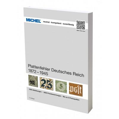 MICHEL Plattenfehler Deutsches Reich 1872-1945