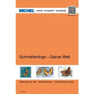 MICHEL Motivkatalog Schmetterlinge - Ganze Welt