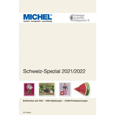 MICHEL Schweiz-Spezial 2021/2022