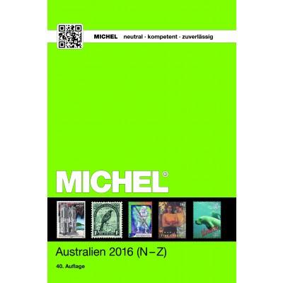 MICHEL Australien/Ozeanien/Antarktis 2016 (ÜK 7/2) – Band 2 N-Z