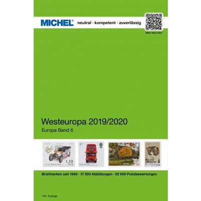 MICHEL Westeuropa 2019/2020 (EK 6)
