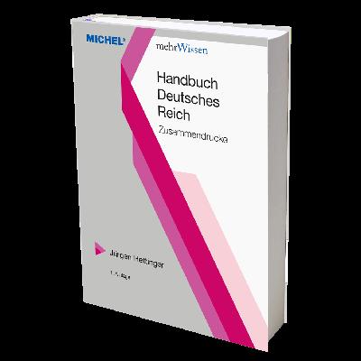 MICHEL Handbuch Deutsches Reich - Zusammendrucke