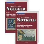 Deutsches Notgeld Band. 1+2: Deutsche Serienscheine 1918 - 1922, 2 Bände, 3. Auflage 2009