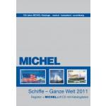 MICHEL Motivregister Schiffe – Ganze Welt 2011 mit CD
