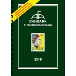 AFA Denmark 2019 stamp catalogue with spiral back binding