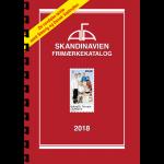AFA Scandinavia stamp catalogue 2018 with sprial back binding