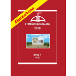 AFA Western Europe stamp catalogue vol. 1, 2018 (A-G)