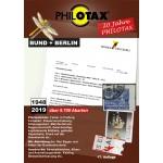 PHILOTAX Briefmarken-Abarten Katalog Bund + Berlin, 17. Auflage