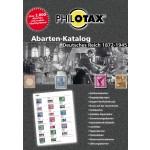 PHILOTAX Gedruckter Abarten-Katalog Deutsches Reich