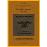 Elmar Josten: Literatur über das Zeitgeschehen im Generalgouvernement 1939-1949