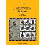 Claus Lange: Katalog und Handbuch der Briefmarken der Republik Bolivien, Teil II: 1946 - 1975