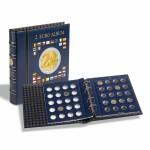 Leuchtturm Münzalbum VISTA, für 2-Euro-Münzen incl. 4 VISTA Münzblättern, incl. Schutzkassette