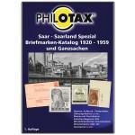 PHILOTAX Gedruckter Saar - Saarland Spezial-Katalog 1920 - 1959 + Ganzsachen