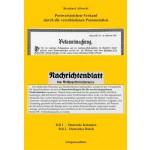 Bernhard Albrecht: Postwertzeichen-Verkauf durch die verschiedenen Postanstalten