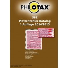 PHILOTAX Gedruckter Plattenfehler-Katalog SBZ